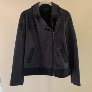 Charcoal Grey NWOT Wool J.Crew Jacket Sz 6